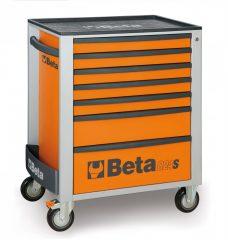 Beta 2400S-7/E-L Beta EASY 7 fiókos szerszámkocsi 295 darabos szerszámkészlettel
