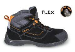 Beta 7218FN FLEX Action nabuk bőr bokacipő, mérsékelten vízálló kopásálló orrvédő betéttel és gyorskioldással