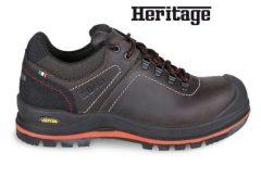 Beta 7293HM Heavy Duty Faggyúzott full-grain bőrcipő nagyteljesítményű VIBRAM® talpfelülettel, kopásálló betéttel a saroknál, és poliuretán orrvédővel