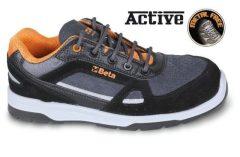Beta 7315AN Sneakers Perforált hasított bőr és mikorszálas cipő mérsékelten vízálló, karbon betétekkel