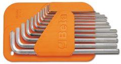 Beta 96LC/SC12 12 részes hajlított hosszú imbuszkulcs szerszám készlet