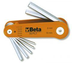 Beta 96/BG7 7 részes hajlított imbuszkulcs szerszám készlet