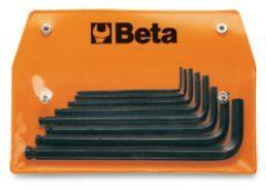 Beta 96BP-AS/8 8 részes hajlított gömbfejű imbuszkulcs szerszám készlet műanyag dobozban