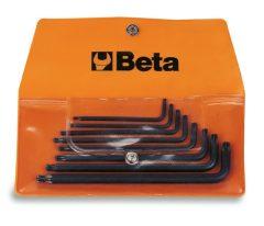 Beta 97BTX/B8 8 részes hajlított gömbfejű Torx® imbuszkulcs szerszám készlet műanyag dobozban