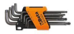 Beta 97BTX/SC8 8 darabos gömbfejű imbuszkulcskészlet Torx®-csavarokhoz