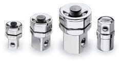 Beta 123/K4 Adapterkészlet racsnis kulcshoz , 4 darabos: : 1 Bitadapter 3 Adapter gyorscsatlakozóval