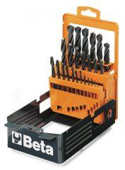 Beta 410/SP25 rövid csigafúró szerszám készlet kofferban