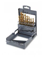Beta 414/SP19 rövid csigafúró szerszám készlet kofferban