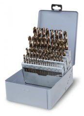 Beta 415/SP49 rövid csigafúró szerszám készlet kofferban