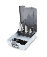 Beta 424/SP3 kúpos lemezfúró szerszám készlet kofferban