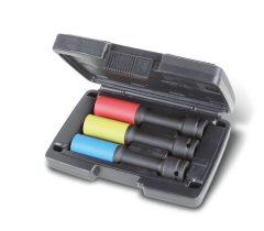 Beta 720LCL/C3 3 hosszú színes gépi dugókulcs polimer betétekkel kerékanyákhoz
