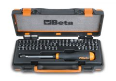 Beta 861/C61P 61 csavarhúzóbetét és 1 mágneses betéttartó gyorslazítóval