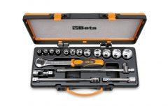 Beta 920A/C12 12 dugókulcs és 5 tartozék fémdobozban