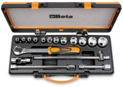 Beta 920A/C12X 12 dugókulcs és 5 tartozék fémdobozban