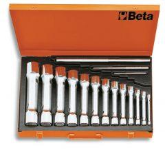 Beta 930/C13  13 részes erősített tizenkétszögű csőkulcs szerszám készlet kofferban