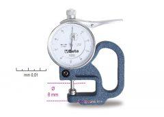 Beta 1659 Mérőórás vastagságmérő, pontosság 0.01 mm