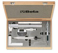 Beta 1685/C7 7 részes szerszámkészlet méréshez és jelöléshez kofferban