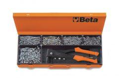 Beta 1741B/C5 1741B típusú popszegecshúzó készlet 700 alumínium szegeccsel