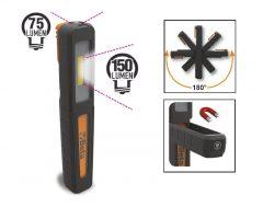 Beta 1838P Tölthető toll lámpa, kettős fénykibocsátással: lámpa vagy zseblámpa