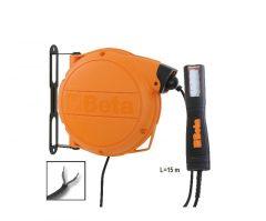 Beta 1846LED/ABM LED lámpával szerelt automata kábeldob 24 V tápfeszültség