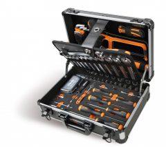 Beta 2054E/E-100 EASY 100 darabos szerszámkészlet táskában, általános karbantartáshoz KIFUTÓ!