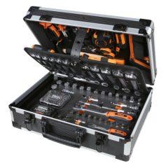 Beta 2056E/E-20 EASY 163 darabos szerszámkészlet táskában, általános karbantartáshoz KIFUTÓ!