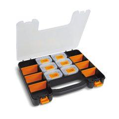 Beta 2080/V6 Üres szerszámtáska 6 db kivehető tálcával és állítható válaszfalakkal