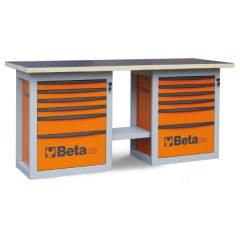 """Beta C59B - 5900B """"Endurance"""" munkapad két 6 fiókos blokkal – választható színekben"""