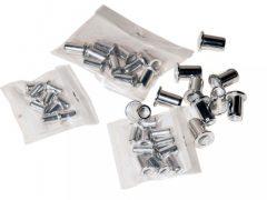 szegecsanya készlet SC-758A szegecsanya húzóhoz (M3, M4, M5, M6), 40 darabos