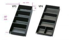 Beta VP3 - VP4 Hőformált műanyag tálcák az összes fiókos, típusú szerszámtárolóhoz