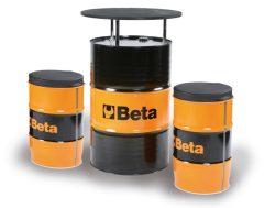 Beta 9565K Hordóasztal két székkel