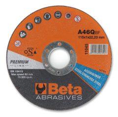 Beta 11046 vágókorong rozsdamentes acélhoz