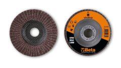 Beta 11435 lamellás/nemszőtt radiális csiszolókorongok, felváltva csiszolóvászon és korundos műszál