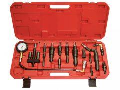kompresszió tesztelő készlet diesel motorhoz, 13 darabos