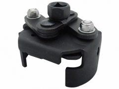Olajszűrő leszedő kulcs, 2-lapos, önzáró, 60-80mm
