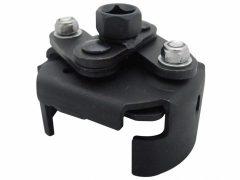 Olajszűrő leszedő kulcs, 2-lapos, önzáró, 80-115mm