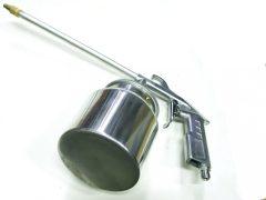 pneumatikus szórópisztoly alvázvédőhöz és mosóanyaghoz, 750ml