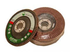 lamellás csiszolókorong, kúpos, 80-as szemcse, 115x22.2mm