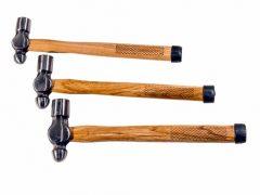 karosszéria kalapács, gömbfejű, 3db-os