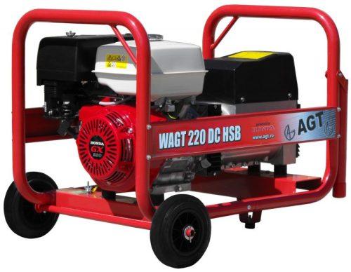 WAGT 220 DC HSB hegesztő áramfejlesztő Honda motorral