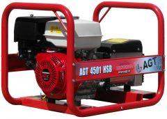 AGT 4501 HSB egyfázisú áramfejlesztő Honda motorral