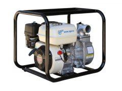 """AGT WHP20HX GP magasnyomású vízszivattyú HONDA GP200, 6,5 LE olajszenzorral, 500 liter/perc, össz-emelési magasság: 55 m, 2""""- 2"""" + 2 x 1,5"""""""