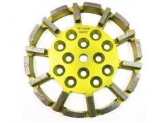 Gyémánt csiszolótárcsa öreg betonhoz DR. SCHULZE DRS-250-20DS-C40