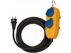 4-es ipari hosszabbító 10m H07RN-F 3G1,5 IP 54