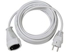 Hosszabítókábel 2m fehér 3G1,5