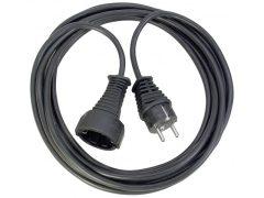 Hosszabítókábel 5m fekete 3G1,5