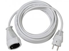 Hosszabítókábel 3m fehér 3G1,5