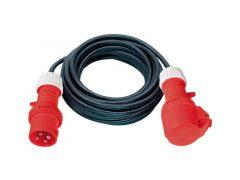 3 Fázisú hosszabítókábel 20 m 400 V, 5 pólus 5G1,5 műanyag kábel