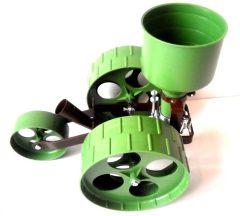 R1 mini farmer rezgőnyelves vetőgép (szimpla kerekes)