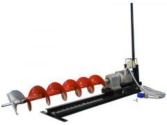 Vízszintes ipari talajfúrógép elektromos háromfázisú (400V/50HZ) (tartozékokkal) (55-930148)